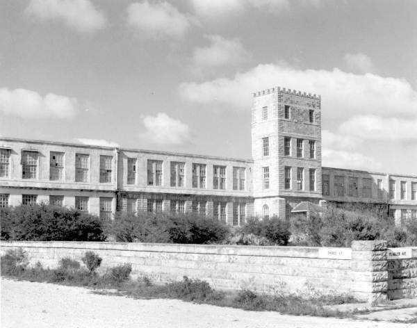 Abandoned cigar factory in Key West, Florida. (1938)