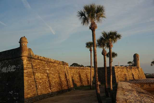 Casillo De San Marcos in St. Augustine is one of the oldest structures in the country. It was built in the 17th century to protect Spain's settlement from pirates, hostile Native American tribes and imperialists.