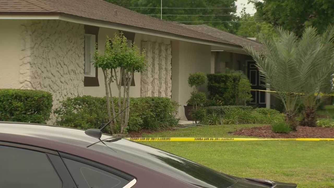 The search is on for two men after a man was shot to death in his own home in Seminole County.