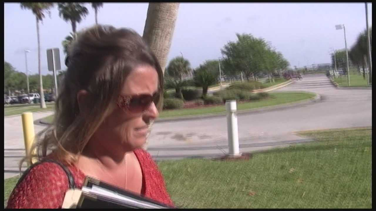Sharon Allison-Loring used money from Palm Bay Youth Athletic Association's funds to pay for her wedding, police say.