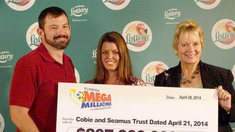 Raymon Moyer and Robyn Collier won $207 million in Mega Millions.