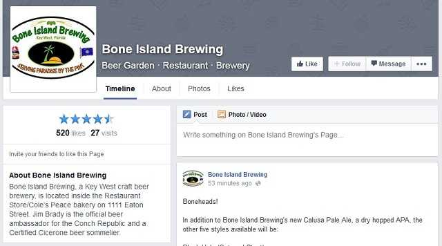 Bone Island Brewing - 1111 Eaton Street, Key West