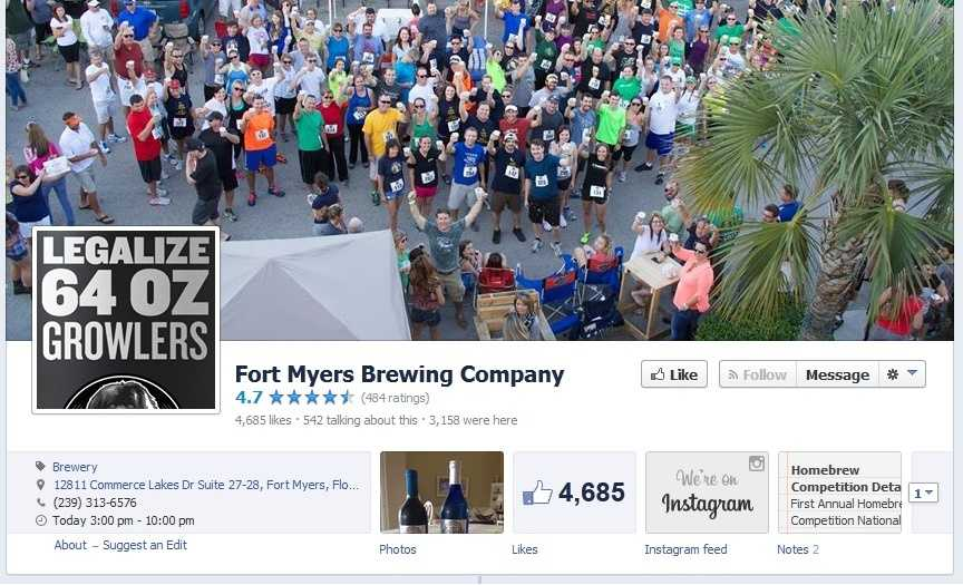 Fort Myers Brewing Company - 12811 Commerce Lakes Drive #28, Fort Myers