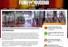 Funky Buddha Brewery - 1201 Northeast 38th Street, Oakland Park