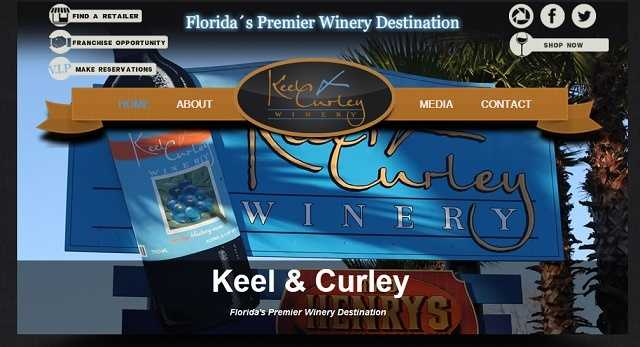 Keel and Curley Winery - 5210 West Thonotosassa Road, Plant City