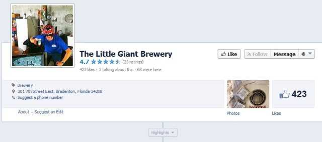 Little Giant Brewery - 301 7th Street E, Bradenton