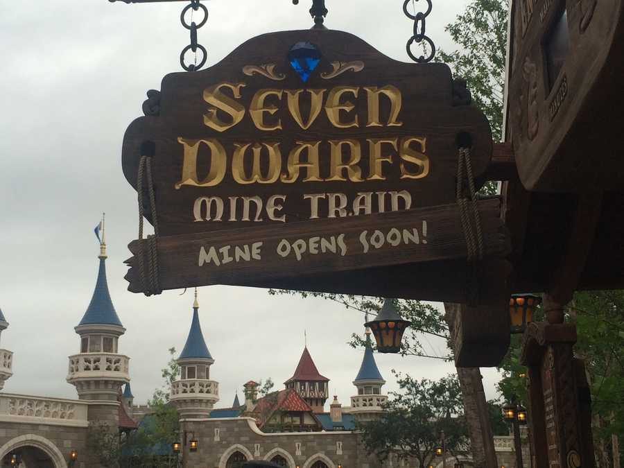 The Seven Dwarfs Mine Train opens to the public on May 28. See these photos to get an idea of what to expect. Hi Ho!