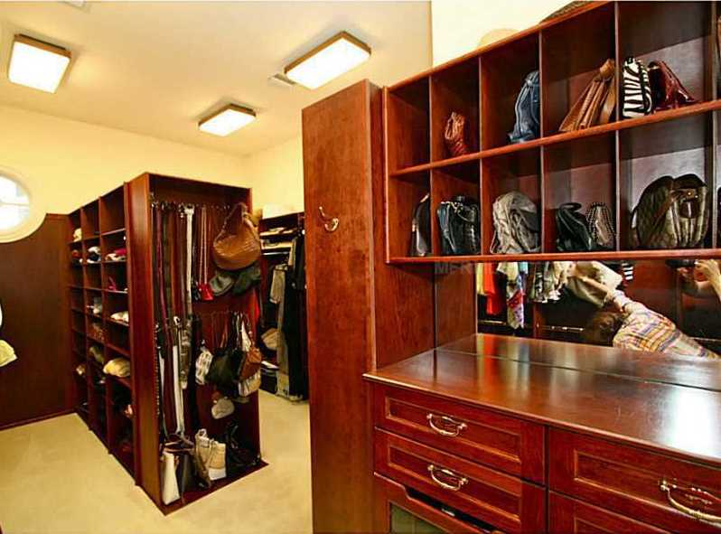 The home has two large closets for every outfit, shoe and accessory.