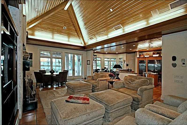 Here is an alternate view of the family room.