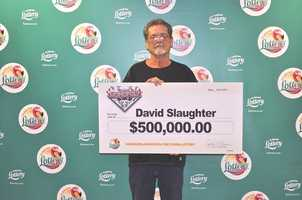 David Slaughter, of Jupiter, won $500,000 from a scratch-off.