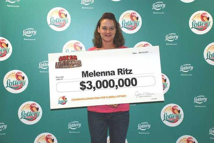 Melenna Ritz, of Marianna, won $3 million from a scratch-off.