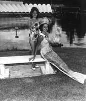 During the 1960s, girls came from all over the world to try out to be a mermaid. In 1962, Miss Universe posed as a mermaid.
