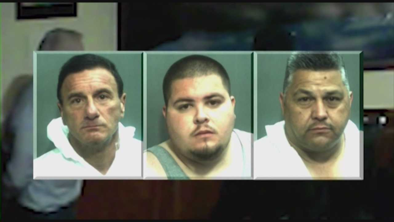 Three men, dressed like ninjas, were arrested Monday, and the arrests could give authorities a break in several similar crimes, according to the Orange County Sheriff's Office.