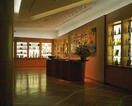 If you've recently visited California Grill, you may or may not recognize this lobby. This is what it looked like back in 1995 - Looks like it's missing a few bottles of wine.