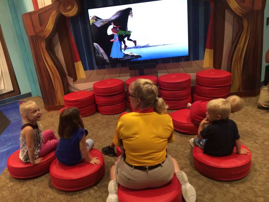 Club Disney will offer kids a getaway of their own in an activity center inspired by classic Disney Little Golden Books tales.