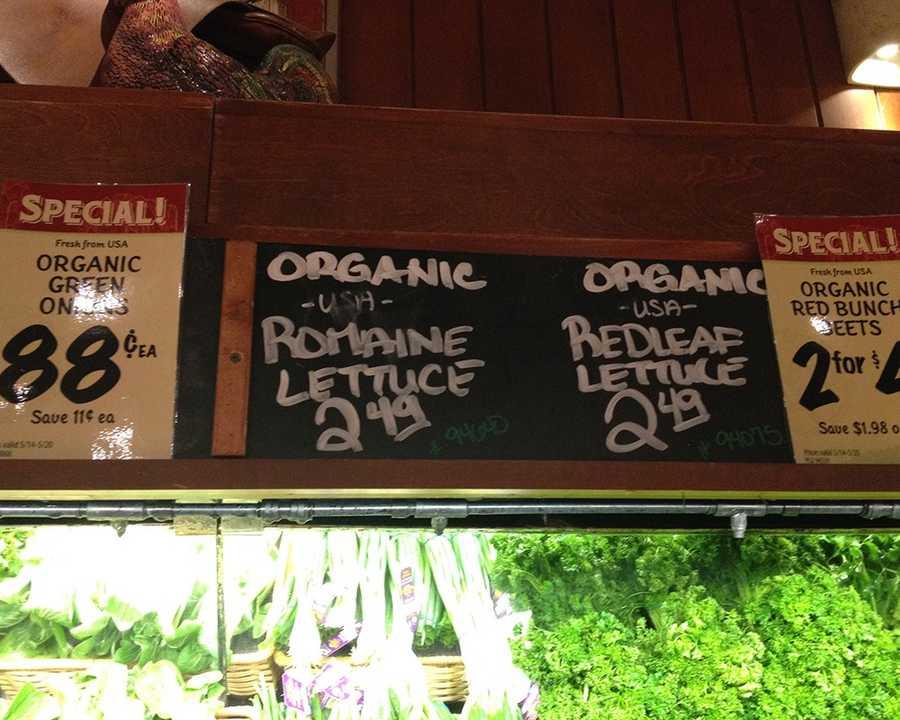 Organic Romaine Hearts at Fresh Market: $2.49