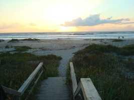 29. Cocoa Beach(Brevard County) -$51,727