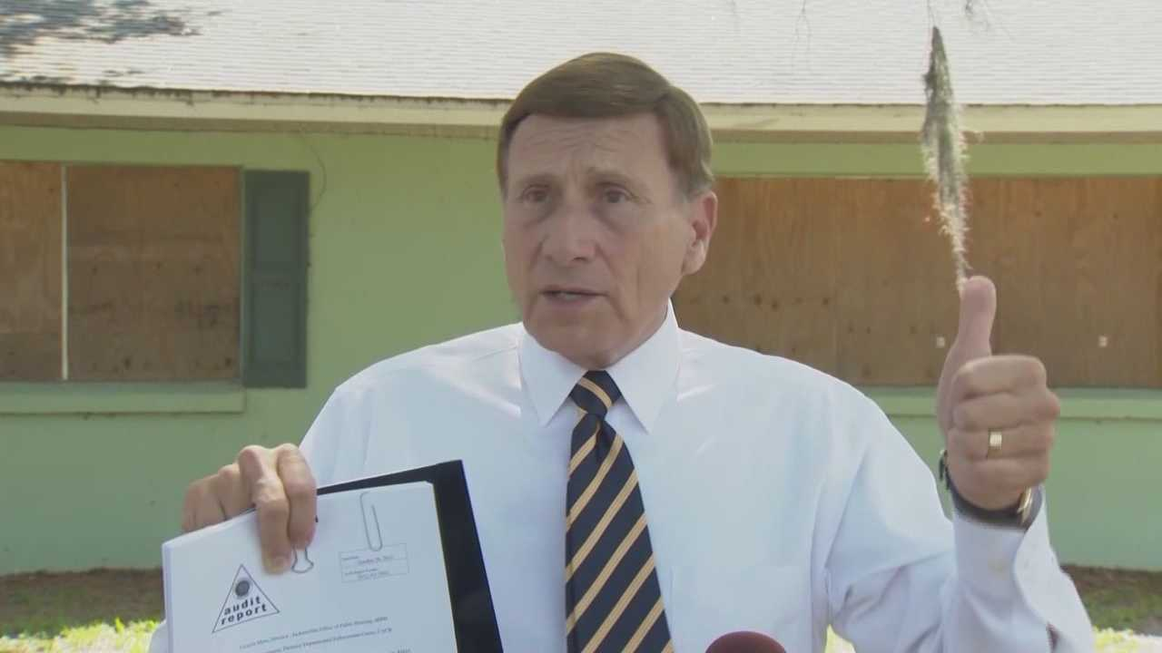 Rep. John Mica is outraged and expressed it publicly Friday morning in Sanford over the Department of Justice's decision not to pursue a criminal referral from HUD based on an audit from 4 years ago.