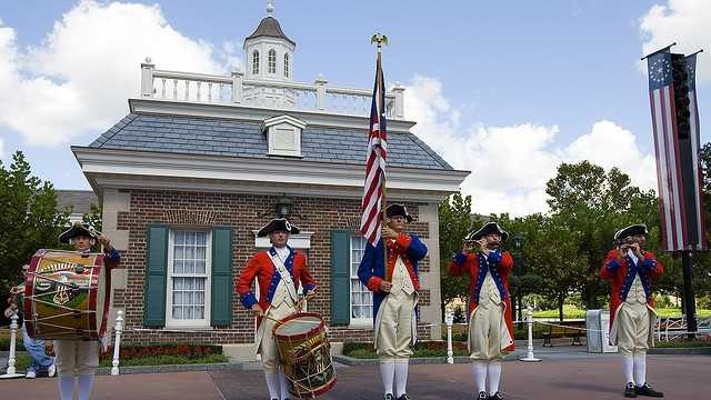 """Actually, if you could see close in my eyes, the American flag is waving in both of them and up my spine is growing this red, white, and blue stripe,"" – Walt DisneyDuring his career, Walt Disney often expressed a deep pride he had in his country. Take a look at some of the more patriotic attractions you can experience when visiting the Disney parks."