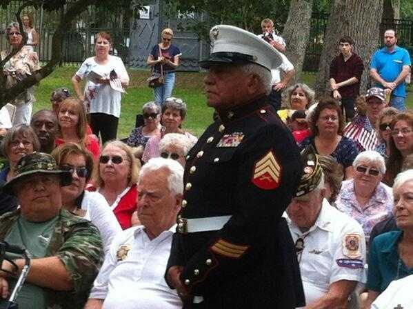 Marine Corps vet Louis Borero, Vietnam War vet.