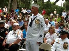 Chief Carter, U.S. Navy.