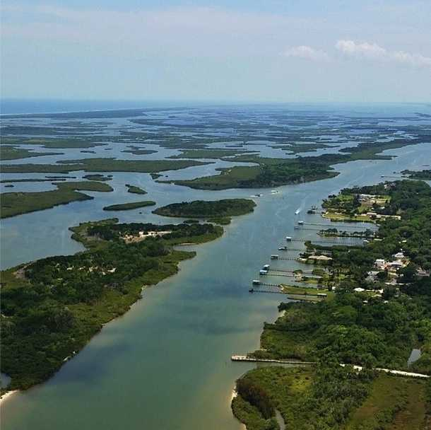 Intracoastal Waterway near New Smyrna Beach