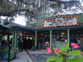 31. Grab a blanket and attend Popcorn in the Park at the Enzian Theater in Maitland.TIP: Be sure to grab some food and a cocktail from the Eden Bar.