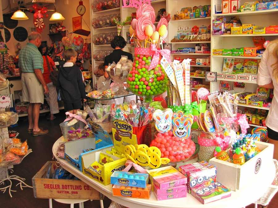 30. Look for your childhood favorite candy at Park Avenue's vintage candy shop, Sassafras Sweet Shop in Downtown Winter Park.TIP: Sassafras offers packages on their candy bars for weddings, graduations, corporate events and more.