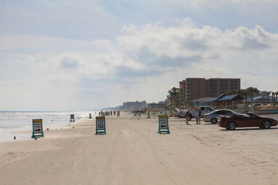 24. Take a drive on New Smyrna Beach.TIP: Drive slowly and carefully to avoid hitting pedestrians.