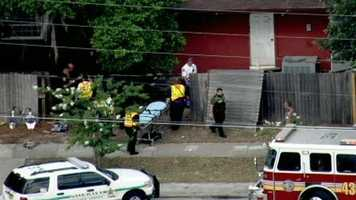 Four people were injured and one was killed in an incident in Pine Hills that ended with a pickup truck crashing into a house. Read the story