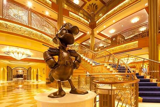 He also watches over Disney cruise ships.