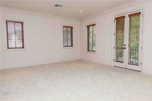 An additional great room can serve as a game room upstairs.