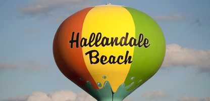 35: Hallandale Beach - 26.4 percent