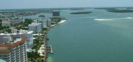 8: Marco Island - 45.9 percent