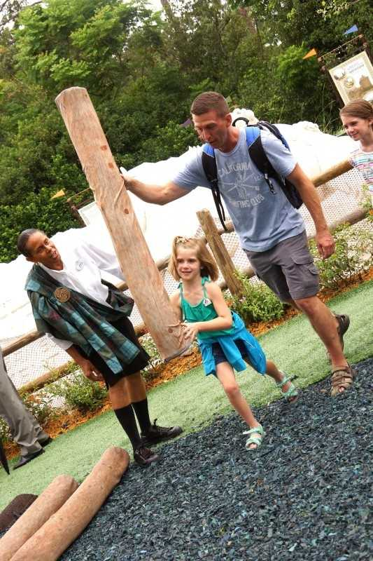 Brave - The Highland Games Tournament: Between no and July 8, guests at Epcot can participate in a mini caber toss, cake toss, haggis flip and archery as part of the Highland Games Tournament near the England Pavilion.