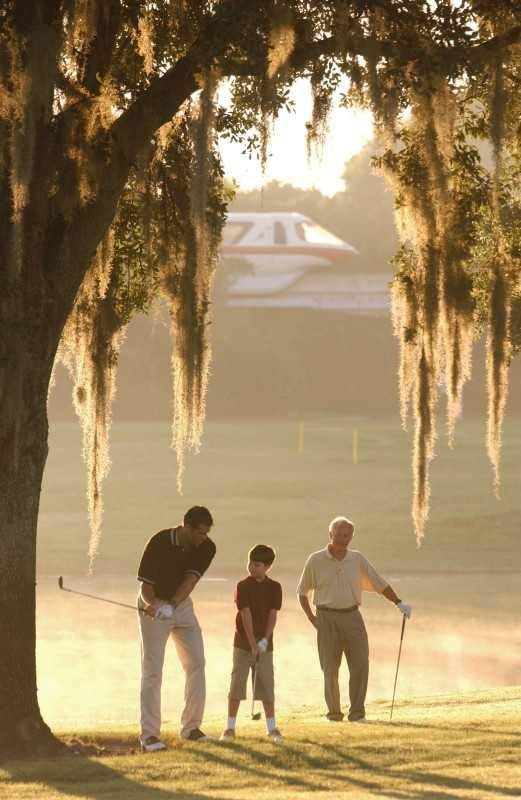 Golf getaway: If dad needs a little help on his golf game, then set him up with one of Disney's PGA instructors, or make it a family affair with a group session. The Walt Disney World resort provides 63 holes of golf on three 18-hole courses.