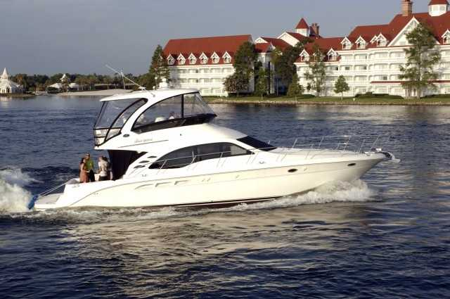 Boating on the Seven Seas Lagoon: Father's can relax on the Seven Seas Lagoon in motorized or non-motorized watercrafts. The luxurious Grand 1 offers VIP boating experiences on the lagoon and in Bay Lake. For more information call 407-WDW-PLAY.