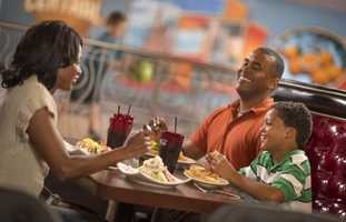 Bowling at Splitsville: Does dad like to be competitive and also likes to eat? Splitsville gives dad a boutique bowling experience, complete with a full-scale restaurant.