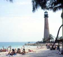 1979: Cape Florida, Key Biscayne