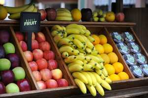 An apple or banana from Prince Eric's Village Market is another healthy on-the-go choice.