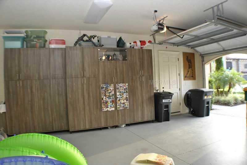 Spacious 2-car garage.
