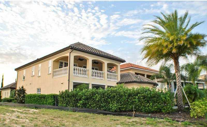 The 6,503 sq. ft. home sits on 9,583 sq. ft. in Kissimmee. For more information, visit Realtor.com .