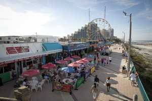 47. Experience the Daytona Beach Boardwalk, which is located right on the beach.TIP: You can see a firework display every Saturday night at 9:45 from Memorial day trough Labor Day.