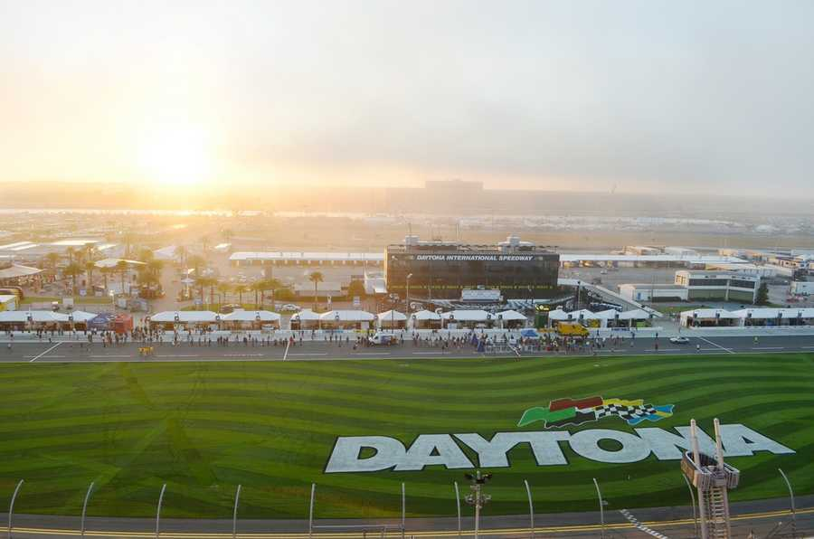 38. Experience the rush of the Daytona International SpeedwayTIP: Get up-close access to drivers, sign the start/finish line, and more with the multi-day Sprint FANZONE access pass.