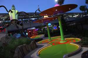 39. Get a hole in one at one of Orlando's mini golf courses.TIP: Invaders From Planet Putt at Universal Orlando offers cutting-edge interactive elements, special effects and LED lighting to play in the evenings.