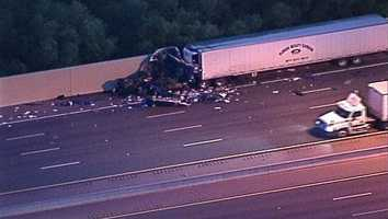 Two people are dead after a crash on Florida's Turnpike in west Orange County.