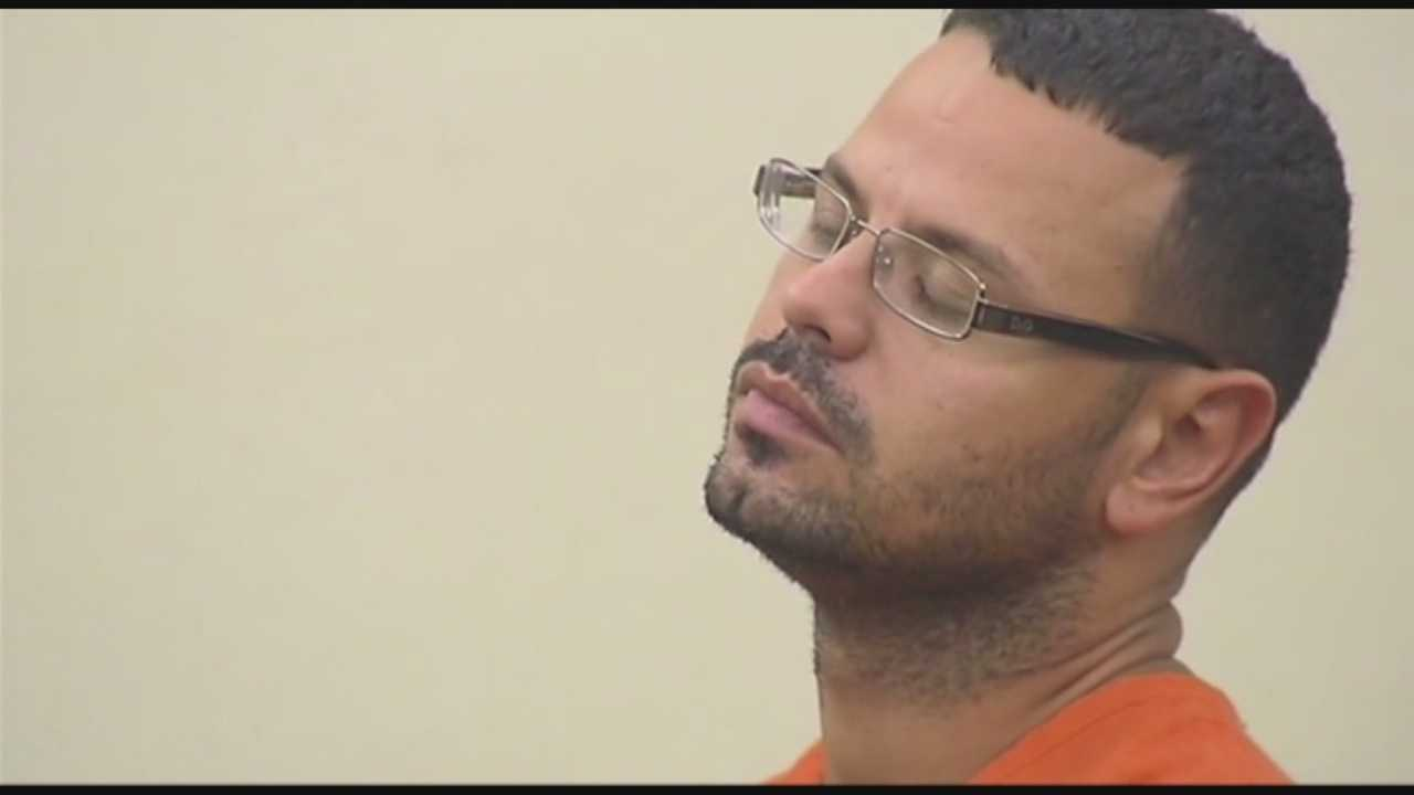 Luis Toledo, the Deltona man accused of killing his wife and her two children, was back in the courtroom Tuesday for another pre-trial hearing.