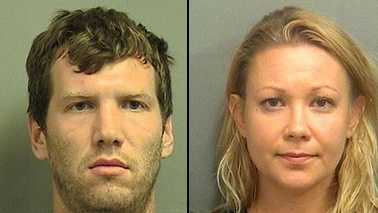 Pavel Krutakov and Elena Chikaurova were both arrested on child neglect charges after a 4-year-old boy in their care was found wandering alone in their apartment complex after 2 a.m. Monday.