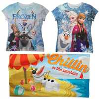 Cool down this summer with new Olaf merchandise from Disney Parks. The loveable snowman from the movie 'Frozen' will be featured on shirts and a towel.