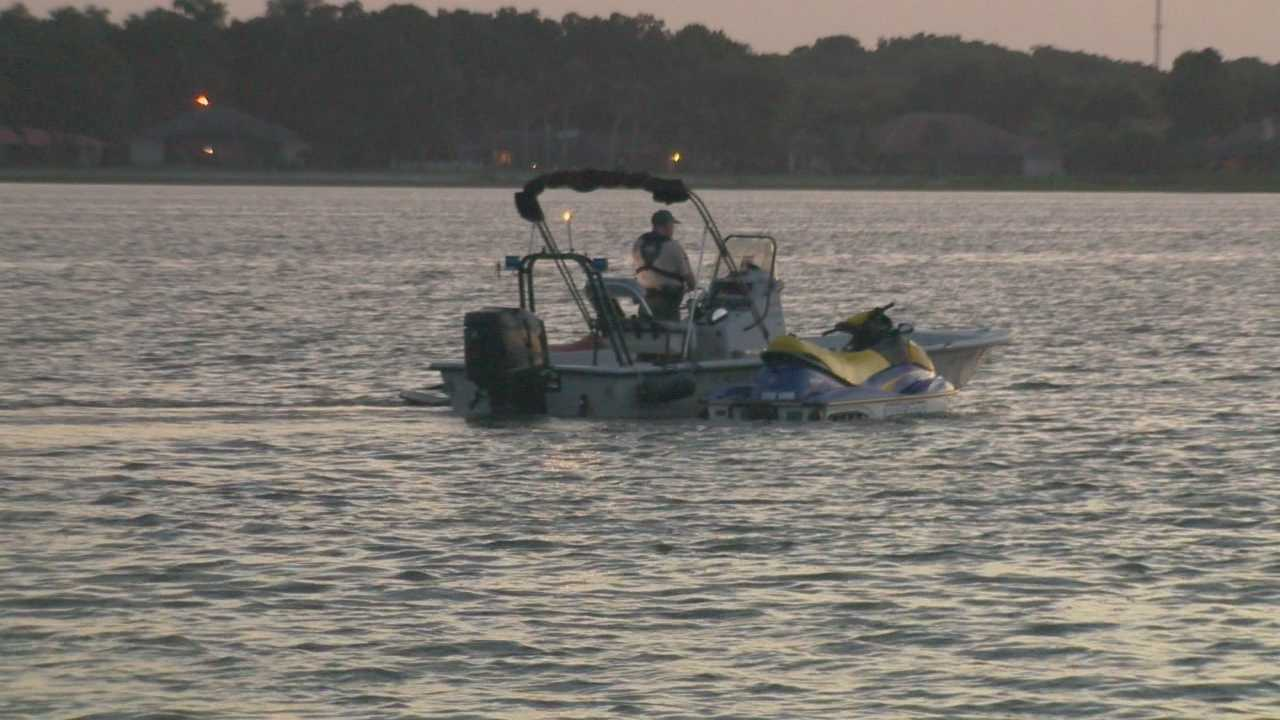 Two men and a 7-year-old boy are injured in a jet ski accident at Lake Griffin State Park Tuesday evening, officials say.